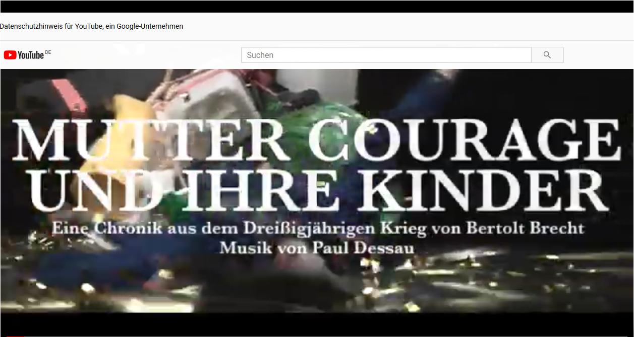 Landestheater Schwaben – Mutter Courage und ihre Kinder – Trailer